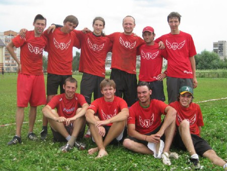 Команда Флаинг Степс натурнире КНО 2009 (ОД, 7/7)
