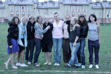 Команда Бриллианс натурнире КНО 2009 (ЖД, 2/5)