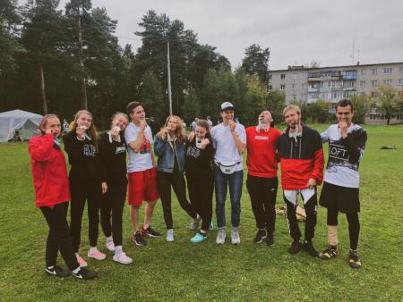 Команда Union натурнире 3 этап Микст Лиги России 2019 (МД, 2/6)