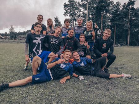 Команда Собр натурнире 3 этап Микст Лиги России 2019 (МД, 1/6)