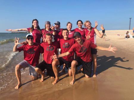 Команда Rigas Ultimate натурнире Latvian Beach Ultimate Championship (МД, 3/6)