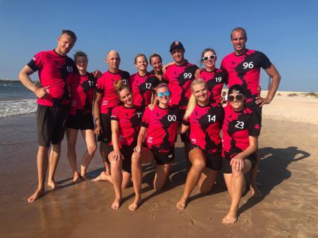 Команда Drop That Smile натурнире Latvian Beach Ultimate Championship (МД, 4/6)