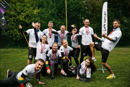 Команда KossMix на турнире Lithuanian Ultimate Championship 2019 (mixed) (МД, 2/6)
