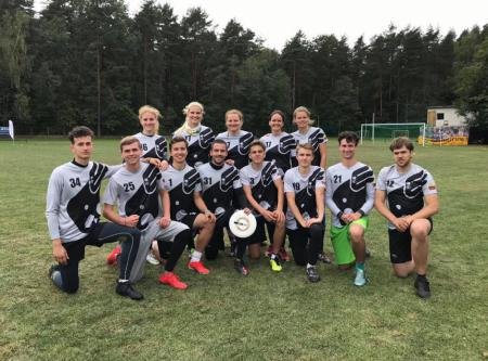 Команда Skraidantys drambliai на турнире Lithuanian Ultimate Championship 2019 (mixed) (МД, 4/6)