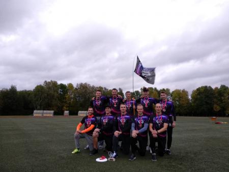 Команда KossMix натурнире Lithuanian Ultimate Championship 2019 (ОД, 3/6)