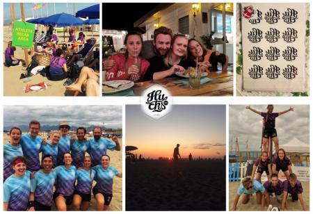 Команда Copenhagen hucks . Den натурнире Burla Beach Cup 2019 (Mixed, 11/17)