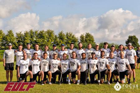 Команда Chevron Action Flash натурнире EUCF 2019 (Men, 3/24)