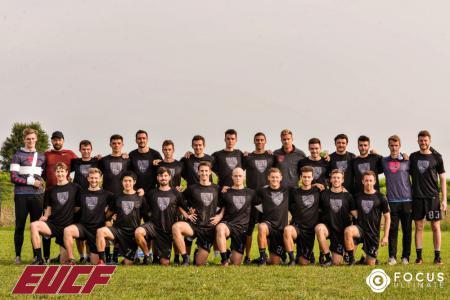 Команда Clapham Ultimate натурнире EUCF 2019 (Men, 2/24)