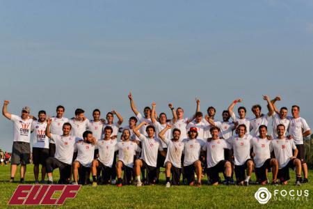 Команда CUSB La Fotta натурнире EUCF 2019 (Men, 1/24)