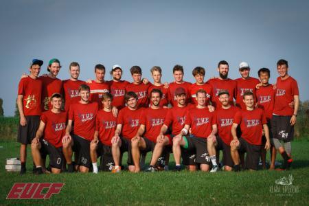 Команда Heidees натурнире EUCF 2019 (Men, 18/24)