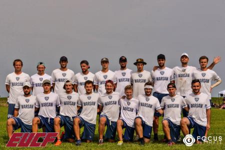 Команда Mojra натурнире EUCF 2019 (Men, 24/24)