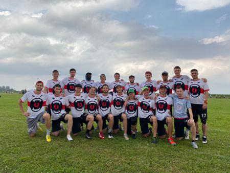 Команда Rampage натурнире EUCF 2019 (Men, 20/24)