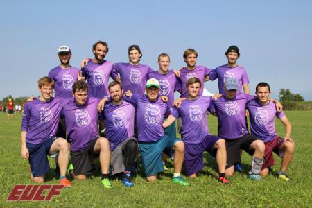 Команда Flying Steps натурнире EUCF 2019 (Men, 22/24)