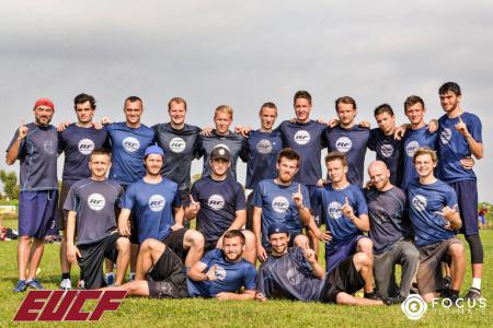 Команда RealFive натурнире EUCF 2019 (Men, 4/24)