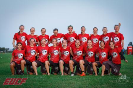 Команда Mainzelmädchen натурнире EUCF 2019 (Women, 6/12)