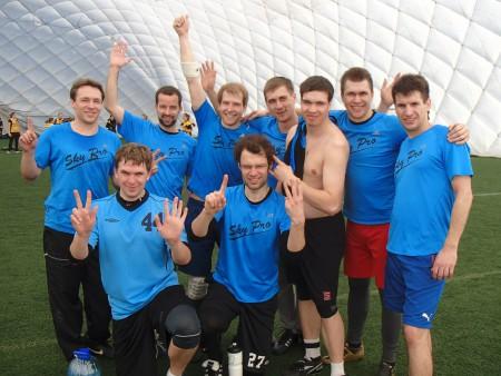 Команда Sky Pro натурнире Kick in de Kok 2013 (ОД, 13/16)