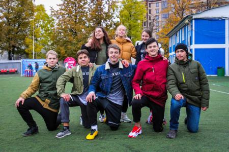 Команда PiterStars-1 натурнире Молодежный (ОД, 3/16)