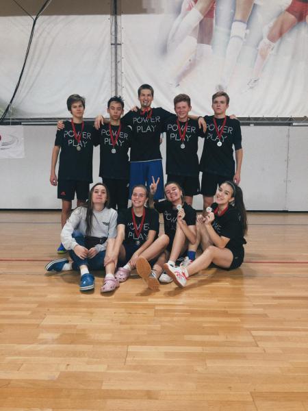 Команда Power Play натурнире I Этап Первенства среди юношеских команд (U17, 2/5)