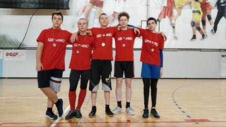 Команда Ашукино натурнире I Этап Первенства среди юношеских команд (U15, 3/4)