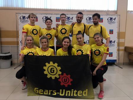 Команда Gears-United натурнире Миксомания 2019 (МД, 15/18)