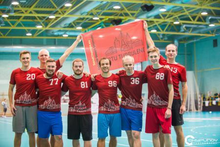 Команда Tartu Turbulence натурнире Rigas Rudens 2019 (ОД, 23/24)