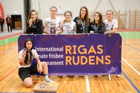 Команда South West натурнире Rigas Rudens 2019 (ЖД, 1/15)