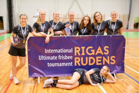 Команда Salaspils натурнире Rigas Rudens 2019 (ЖД, 2/15)
