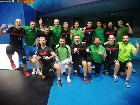 Команда Greens натурнире Winter Brest 2020 (ОД, 9/10)