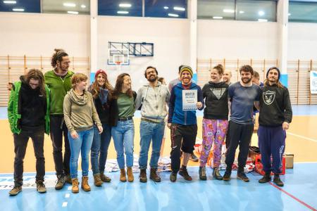 Команда Parkscheibe натурнире Winter Unleashed 2019 (МД, 2/12)