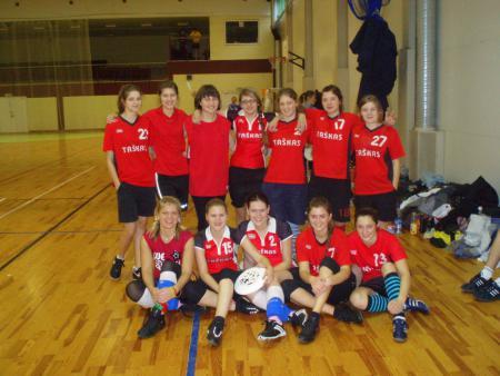 Команда Taškas натурнире Rigas Rudens 2008 (ЖД, 9/12)