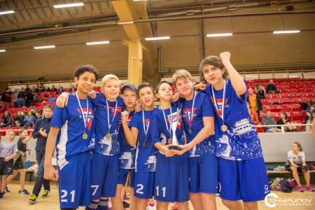 Команда KFUM Örebro натурнире GoThrow 2020 (Junior, ?/8)
