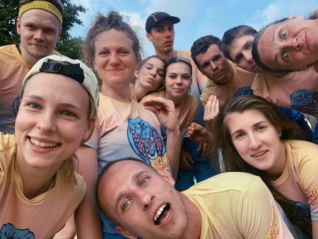 Команда Миднайт Кобрас натурнире Строгинелло 27.06.2020 (МД, 1/14)
