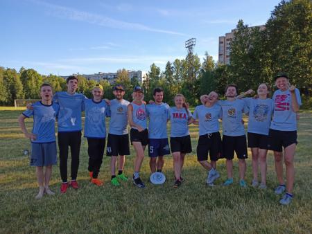 Команда Dina Team натурнире ForFun 2020 (МД, 2/8)