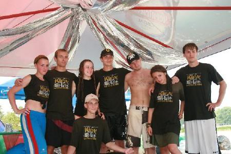 Команда Осторожно дети! натурнире Kiev Hat 2008 (2 дивизион, 2/10)