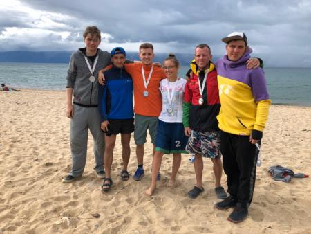 Команда Нерпы натурнире Baikal Hat Tournament 2020 (МД, 2/8)