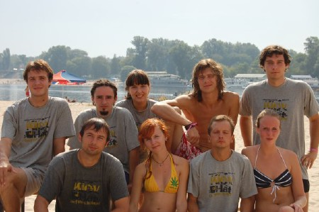 Команда МайТим натурнире Kiev Hat 2008 (2 дивизион, 4/10)