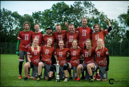 Команда DTU натурнире Mixed Danish Nationals (МД, 1/6)