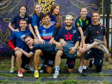 Команда Свинг натурнире DISCOVERY-2020.FEST (МД, 1/8)