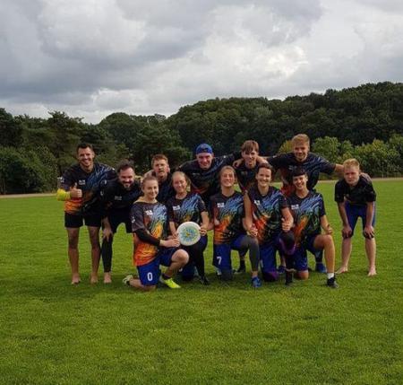 Команда Baltic Dragons натурнире LUC 2020 (mixed) (МД, 3/3)