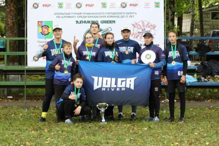 Команда Волга Ривер натурнире Ашукино Green 2020 (Открытый U17+coach, 1/13)
