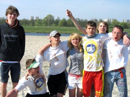 Команда Команда К натурнире Brest Spring Beach Hat 2009 (Микс дивизион, 3/7)