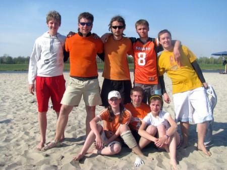 Команда Команда М натурнире Brest Spring Beach Hat 2009 (Микс дивизион, 2/7)