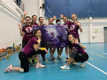 Команда Cosmic girls натурнире Конституционный слёт 2020 (ЖД, 5/9)