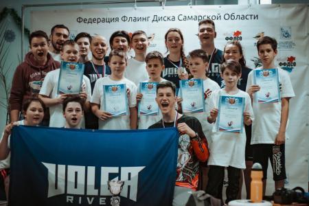 Команда Volga River натурнире ЧСО 2020 (OU17, 1/7)