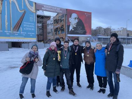 Команда Ivakina team натурнире Свой микст (МД, 1/6)