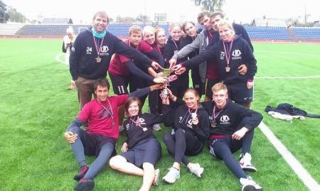 Команда UD натурнире Чемпионат Балтии 2013 (МД, 3/9)