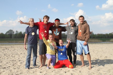 Команда Майя натурнире Spring Beach Hat 2012 (Микс дивизион, 1/6)