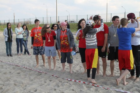 Команда Ацтеки натурнире Spring Beach Hat 2012 (Микс дивизион, 2/6)