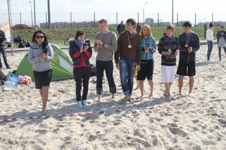 Команда Шумеры натурнире Spring Beach Hat 2012 (Микс дивизион, 3/6)