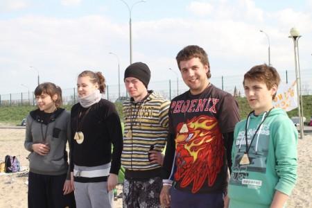 Команда Викинги натурнире Spring Beach Hat 2012 (Микс дивизион, 5/6)